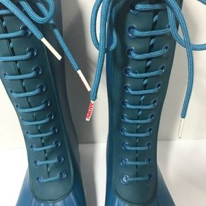 Native Shoes - Native rain boots lace up size 7 women and 5 men